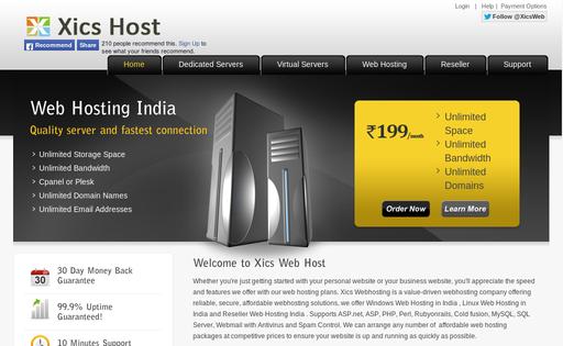 Xics Web Hosting