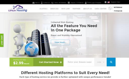 Linux Hosting World