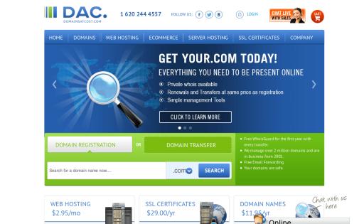 Domains at Cost