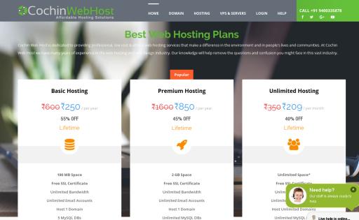 Cochin Web Host