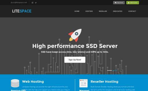 LiteSpace Hosting