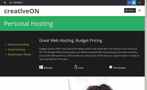 Personal Hosting