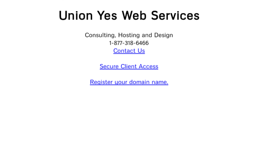 Union Yes Web Services