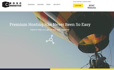 BOXC Websites