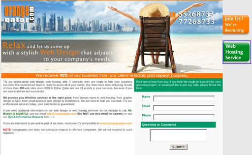 Orange Web Design