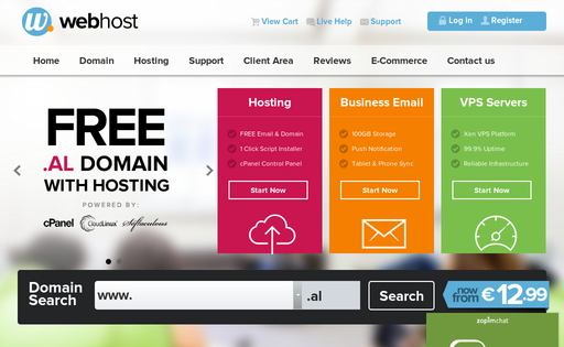 WebHost.al