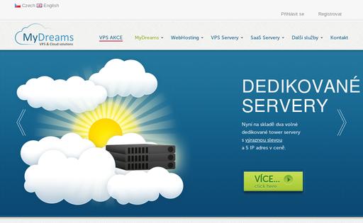 MyDreams VPS servers