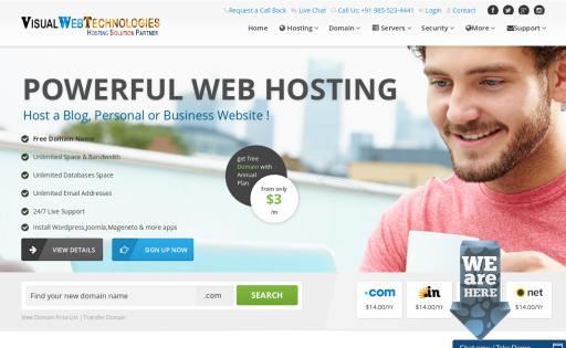 Visual Web Technologies