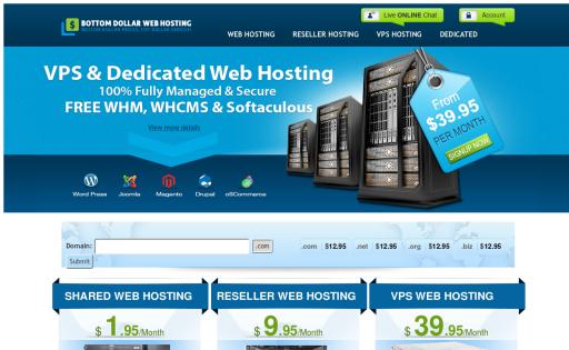 Bottom Dollar Web Hosting