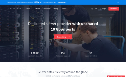10Gbps io at Web Hosting Search