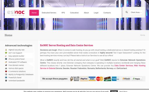 Хостинг эстония переносим сайт на другой хостинг
