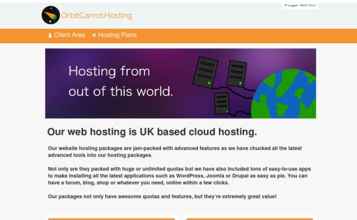 OrbitCarrot UK Hosting