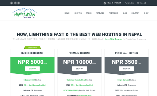 Web Hosting Nepal