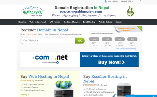 Domain Registration in Nepal