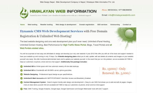 Himalayan Web Hosting