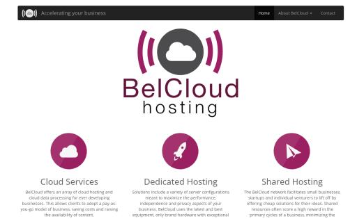 BelCloud Hosting Corporation