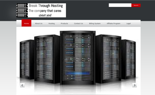Break Through Hosting