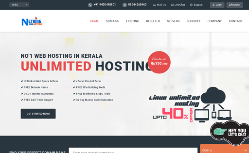 Netringindia Hosting Solution