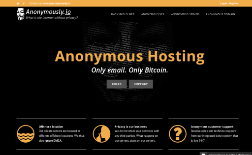 Anonymously