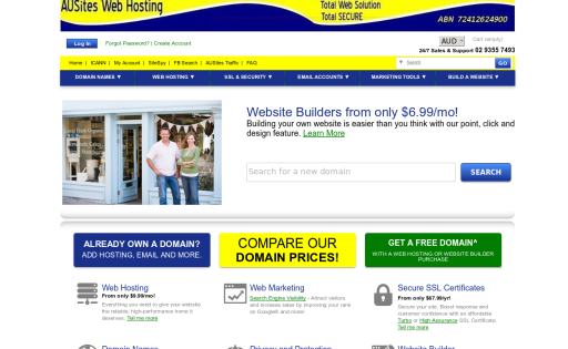 AUSites Web Hosting Solutions
