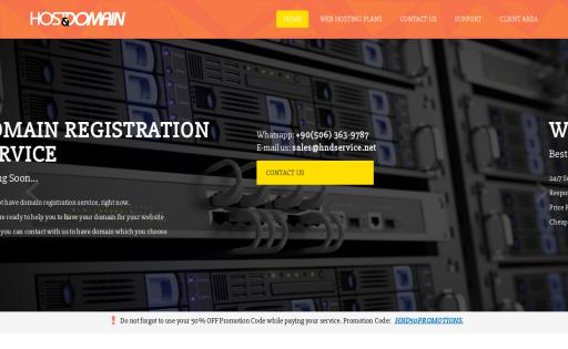 Host&Domain Service