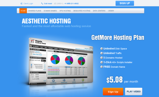Aesthetic Hosting