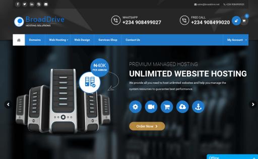 Broaddrive Hosting Solutions