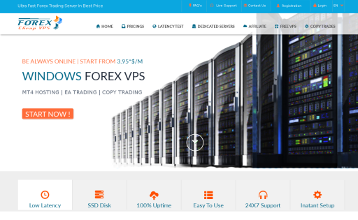 Affordable vps for forex