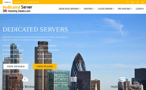 Dedicated Server Hosting Deals