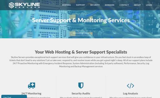 Skyline Servers