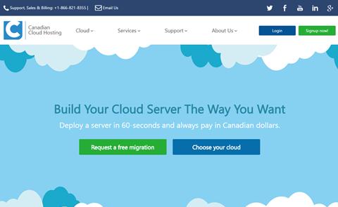 Canadian Cloud Hosting