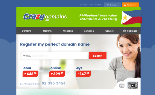 Crazy Domains Philippines