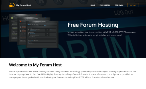 My Forum Host
