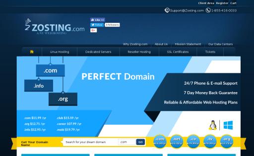 Zosting.com