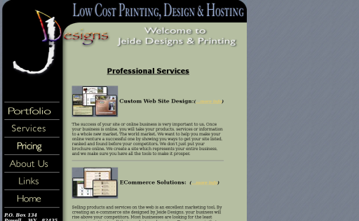Low Cost Hosting Service