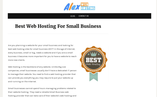 Alex Web Hosting