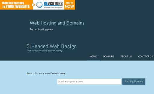 3 Headed Web Design