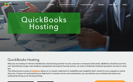 QuickBooks Hosting MyQbHost