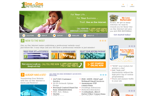One on One Internet, Inc.