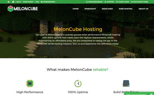 MelonCube Hosting