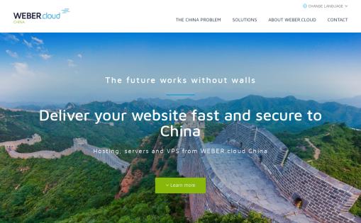 WEBERcloud China
