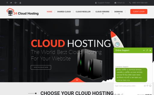 24 Cloud Hosting