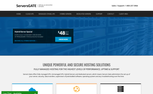 Servers Gate