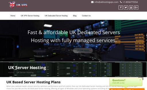 UK Hosting VPS