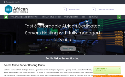 South African Hosting