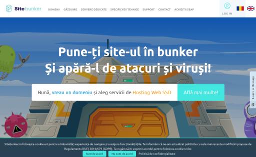 SiteBunker SSD Hosting