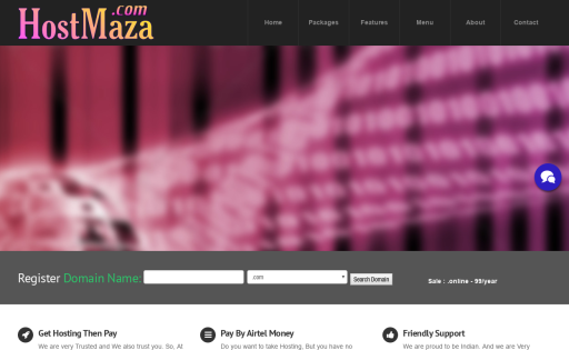 HostMaza Web Hosting