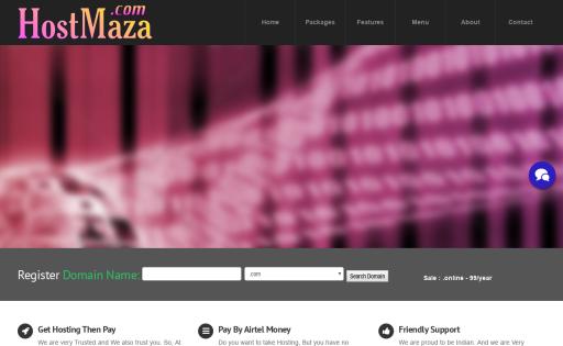 HostMaza Web Hosting