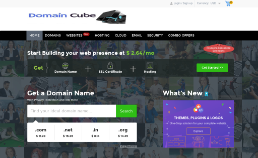 Domaincube.co.in