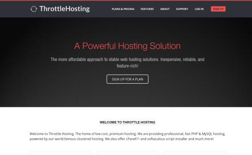 Throttle Hosting